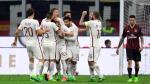 Roma goleó 4-1 a Milan y recuperó segundo lugar de la Serie A - Noticias de edin dzeko