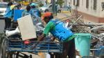 Jesús María: recogen gran cantidad de basura de los techos - Noticias de carlos santa cruz