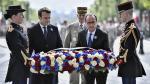 Francia: Primer acto público de Macron como presidente electo - Noticias de maribel flores