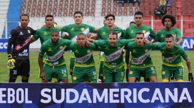 2-1. Nacional Potosí gana al Huancayo su primera eliminatoria internacional
