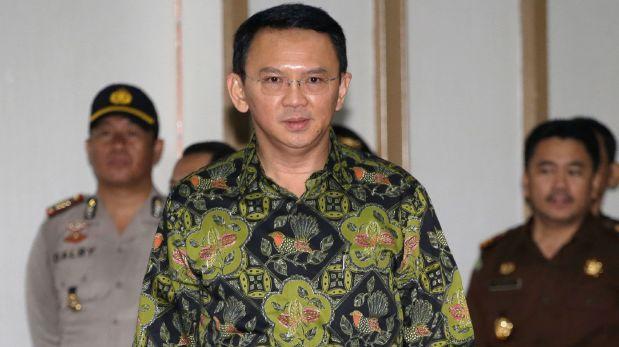 Dos años de cárcel para el gobernador de Yakarta por blasfemia