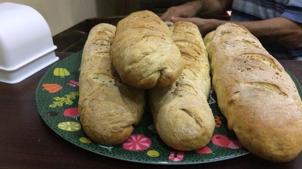 Los panes campesinos de Italian Food. (Foto: Alicia Rojas/El Comercio)