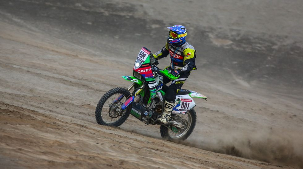 Álvaro Brandes sorprendió al ganar en su debut off road. (Fotos: Itea Photo)
