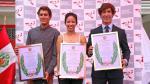 Laureles Deportivos: deportistas recibieron merecido homenaje - Noticias de cruz castillo