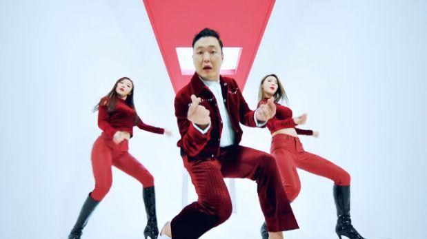 El cantante Psy presenta hoy su nuevo disco 4X2=8