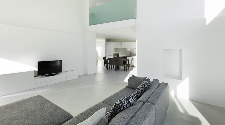 Cinco motivos para elegir los pisos de cemento pulido en for Hormigon pulido blanco