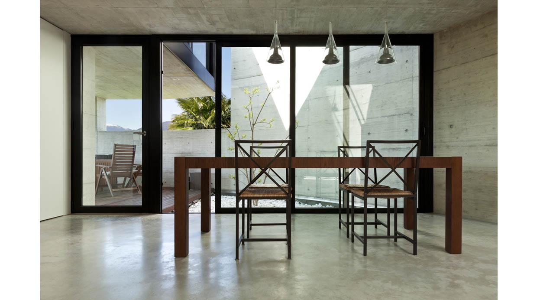 Foto cinco motivos para elegir los pisos de cemento - Piso de cemento pulido blanco ...
