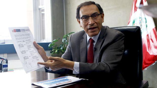 Congreso decide hoy si interpela o no a Vizcarra