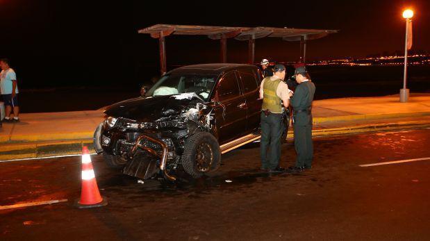 Testigo afirma que empresario ocasionó fatal accidente — Costa Verde