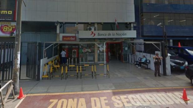 Seis sujetos asaltan agencia del Banco de la Nación — La Victoria