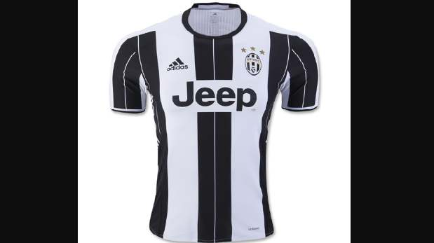 Camiseta de la Juventus.