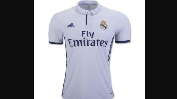 Camiseta del Real Madrid.
