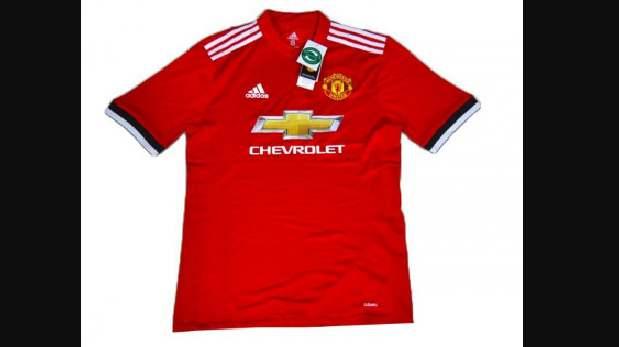 Camiseta del Manchester.