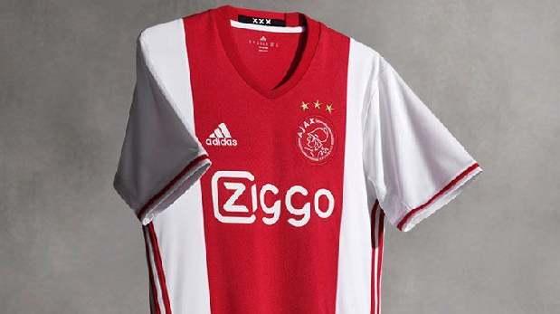 Camiseta del Ajax.
