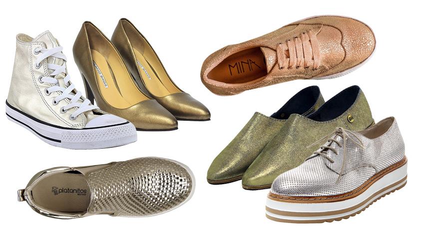 'Must haves': Dónde comprar zapatos metalizados