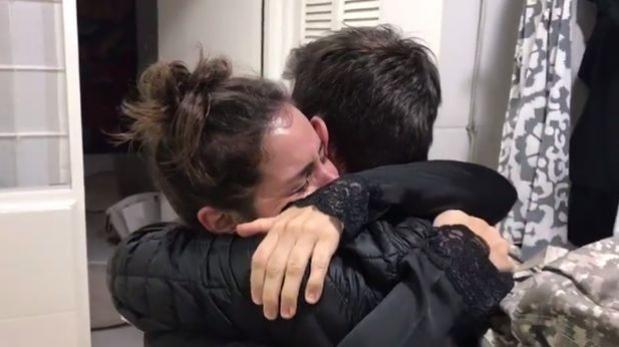 Jesús Alzamora emociona hasta las lágrimas a madre de su hijo