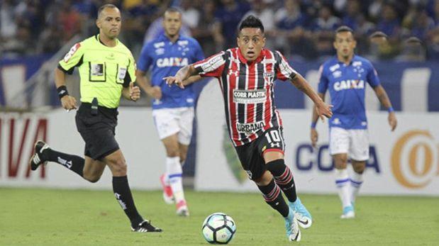 Sao Paulo vs. Cruzeiro: EN VIVO Con Christian Cueva por el Brasileirao