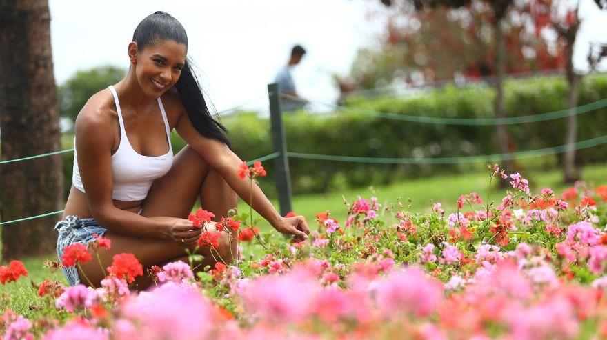Rocío Miranda, la deportista y modelo que será mamá [FOTOS — PERÚ