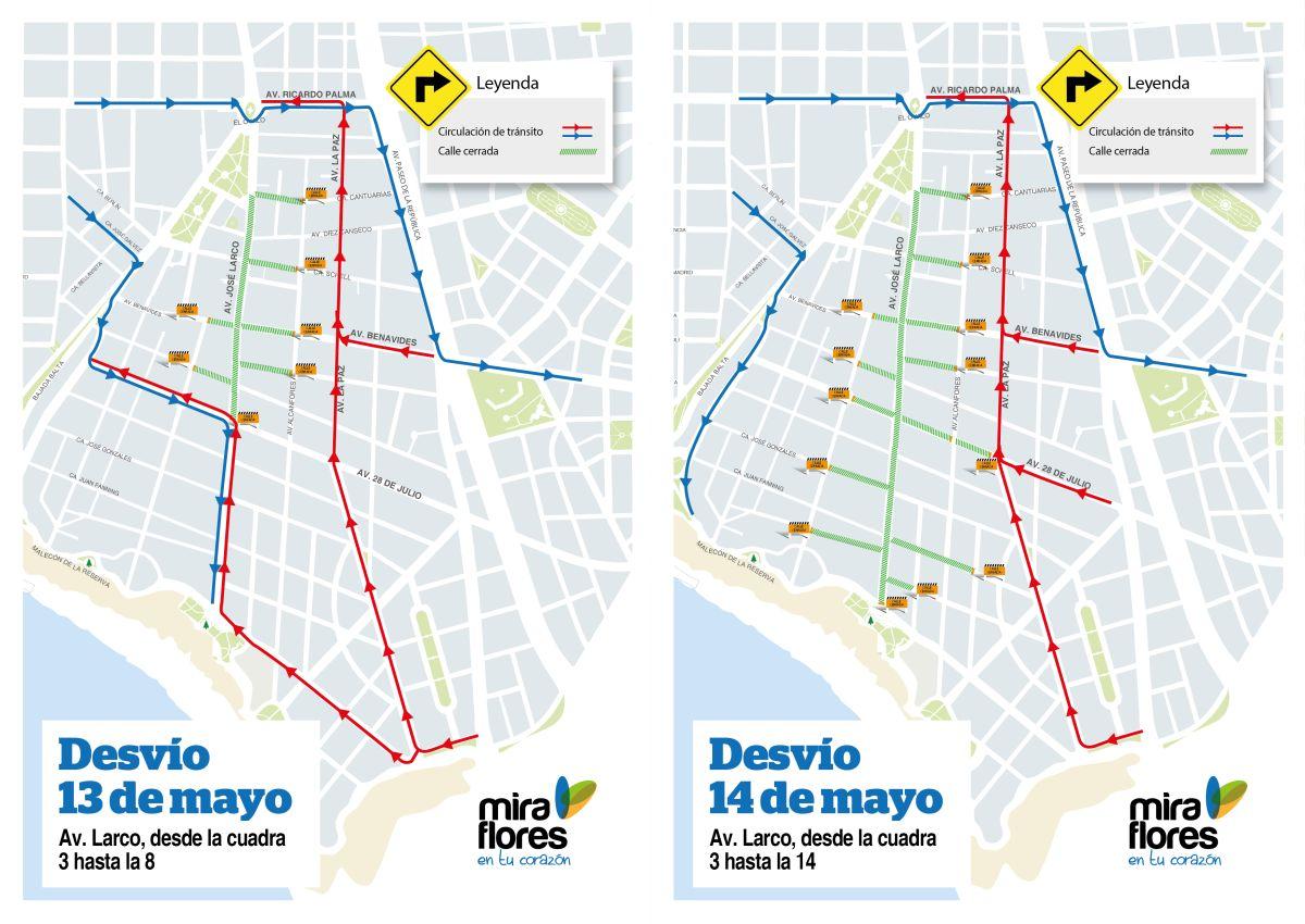 [Foto] Miraflores: Av. Larco será cerrada hoy por evento deportivo