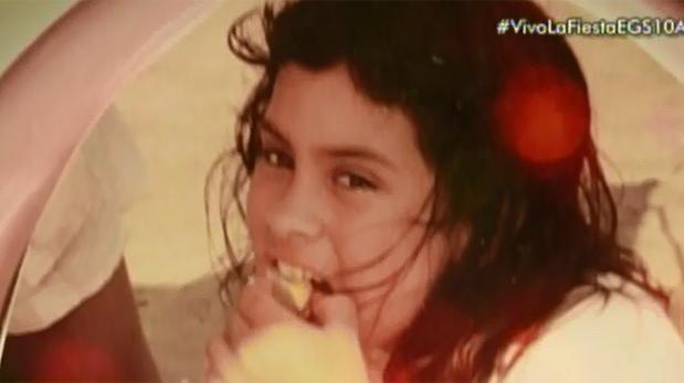 Ethel Pozo, hija de Gisela Valcárcel. (Fotos: Captura de pantalla)
