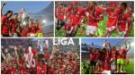 André Carrillo: los festejos del Benfica por el tetracampeonato - Noticias de andre carrillo