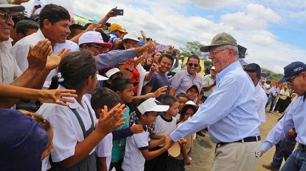 Juanjuí: PPK dará inicio obras de rehabilitación de vía Tocache
