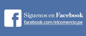 Sígueos en Facebook