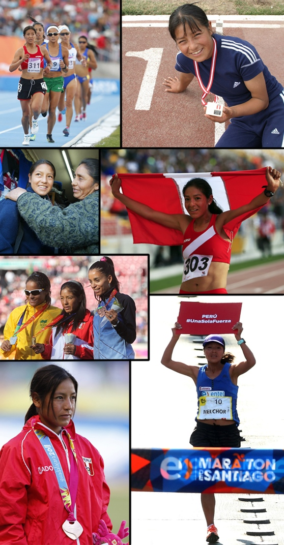 Inés Melchor se alista para correr en el Mundial de Atletismo de Londres [VIDEO]