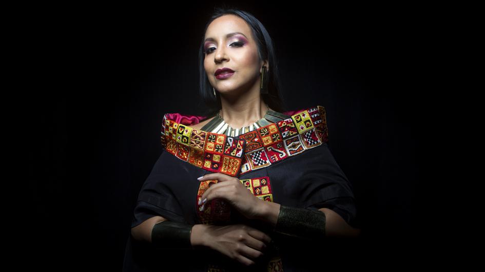 Sylvia Falcón, la soprano de coloratura que le canta al mundo andino
