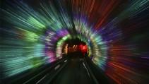 Este túnel es atracción en China