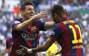 Barza goleó 5-1 con hat-trick de Messi, goleador histórico de la Liga