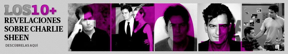 Diez revelaciones sobre Charlie Sheen