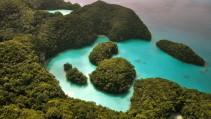Laguna de ensueño en Filipinas