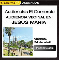 Audiencia vecinal en Jesús María