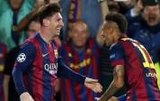 Barcelona empató en Camp Nou tras ir ganando con doblete de Messi