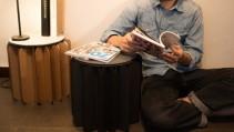 ¿Una silla en forma de libro?