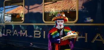 El lujoso tren Hiram Bingham