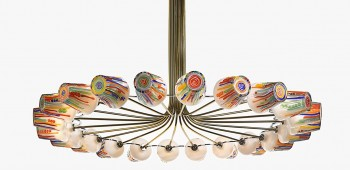 Lámparas inspiradas en caramelos