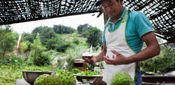 Una buena cosecha en Callahuanca