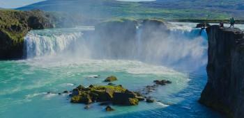 Hermosas cascadas de Islandia