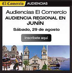 Audiencia Regional en Junín