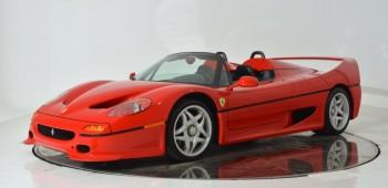 En subasta este Ferrari de 1995