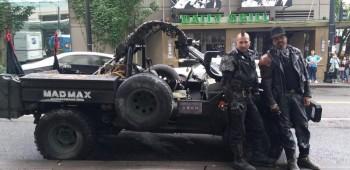 Taxis de Uber como Mad Max