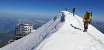 Un refugio en el Mont Blanc