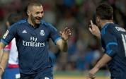 Madrileños ganaron de visita con goles de Benzema y Modric