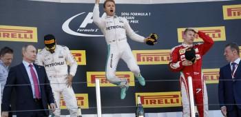 Nico Rosberg ganó en Rusia