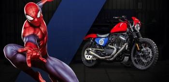 Las Harley-Davidson de Marvel