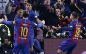 Barcelona goleó 3-0 al Osasuna con doblete de Lionel Messi