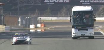 Ver carreras desde un autobús
