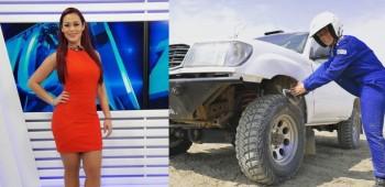 Fernanda Kanno rumbo al Dakar